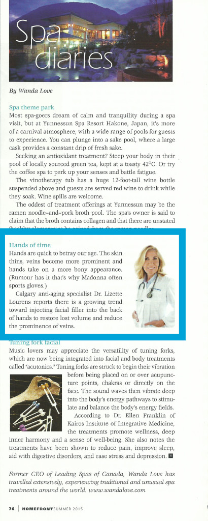 Dr Lourens Homefront Magazine Summer 2015 copy